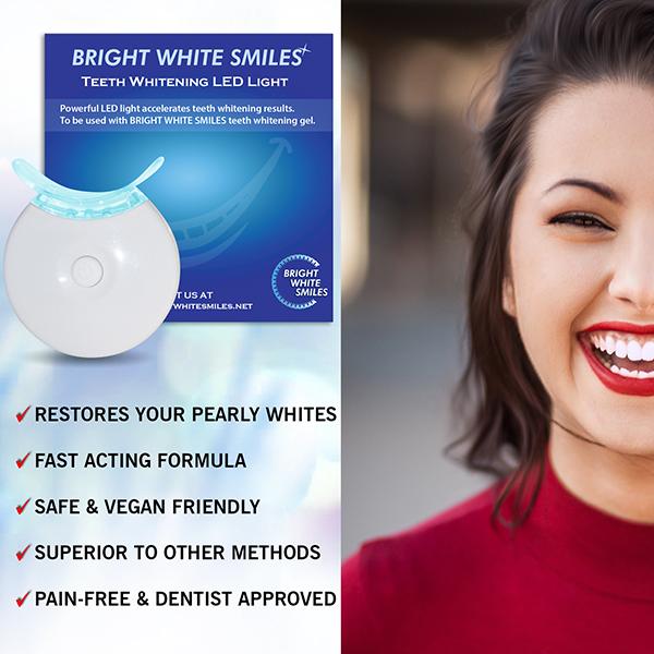 Teeth Whitening Accelerator Light 5x More Powerful Blue Led Light